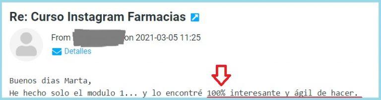 Curso Online Instagram Farmacias